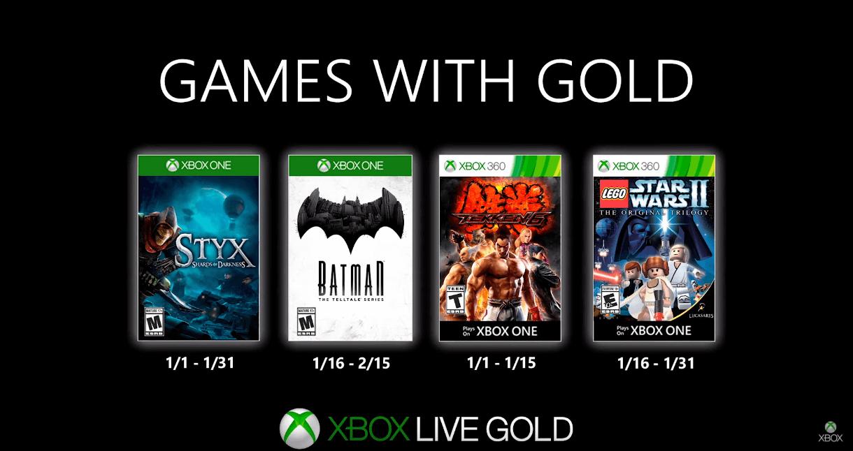 Xbox Gold Enero 2020