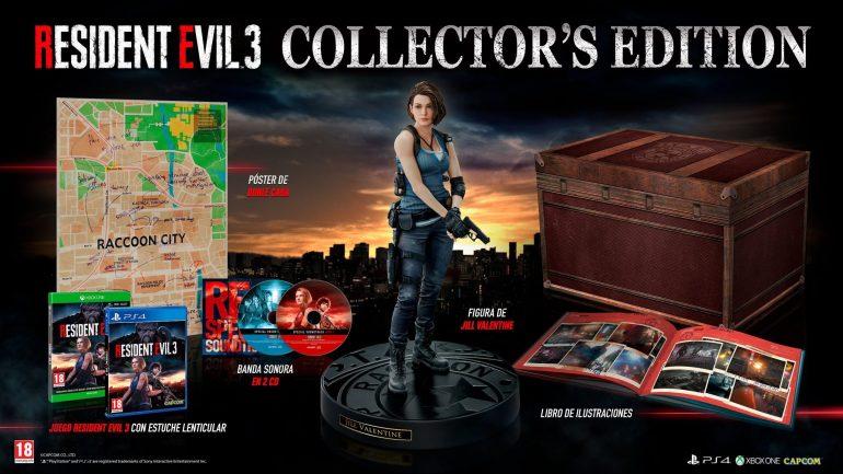 coleccionista de Resident Evil 3