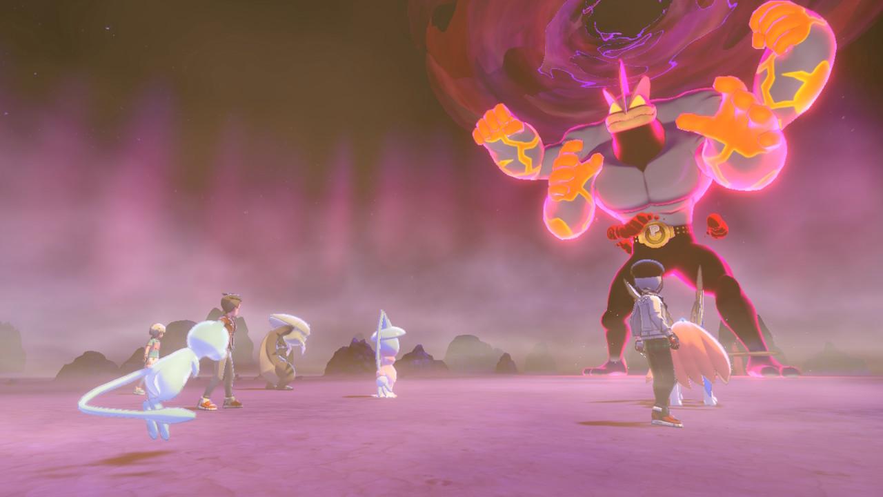 Machamp saldrá más en incursiones de Pokémon Espada y Escudo