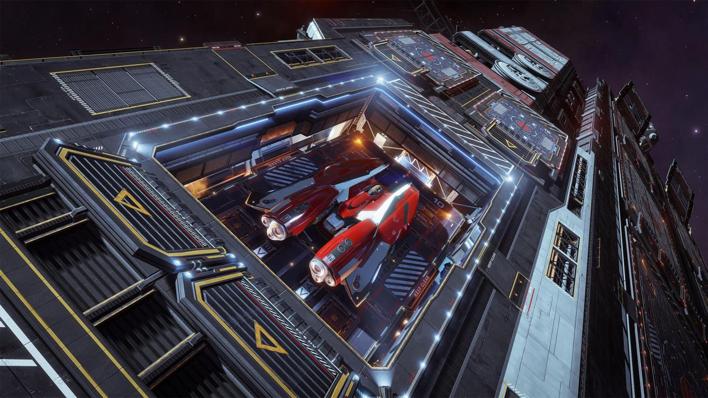 Elite Dangerous Fleet Carrier 1