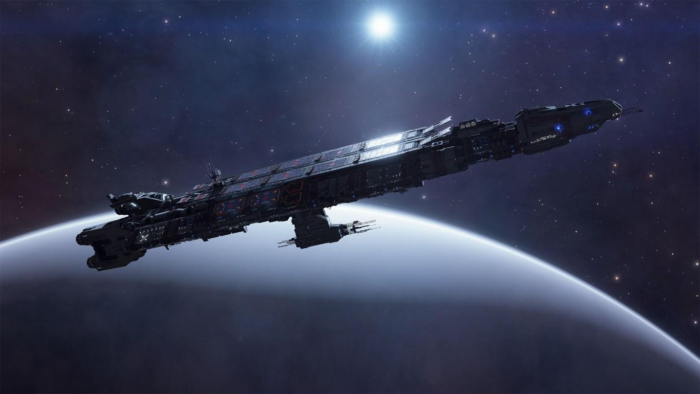 Elite Dangerous Fleet Carrier 2