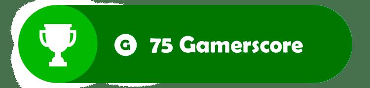 Logros 75 Gamerscore
