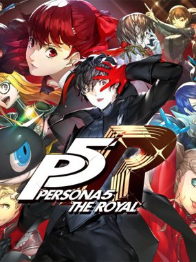 Persona 5 Royal Cover
