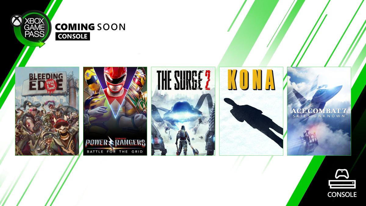 Xbox Game Pass Marzo 2020 XB
