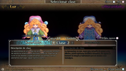 Trials of Mana clases