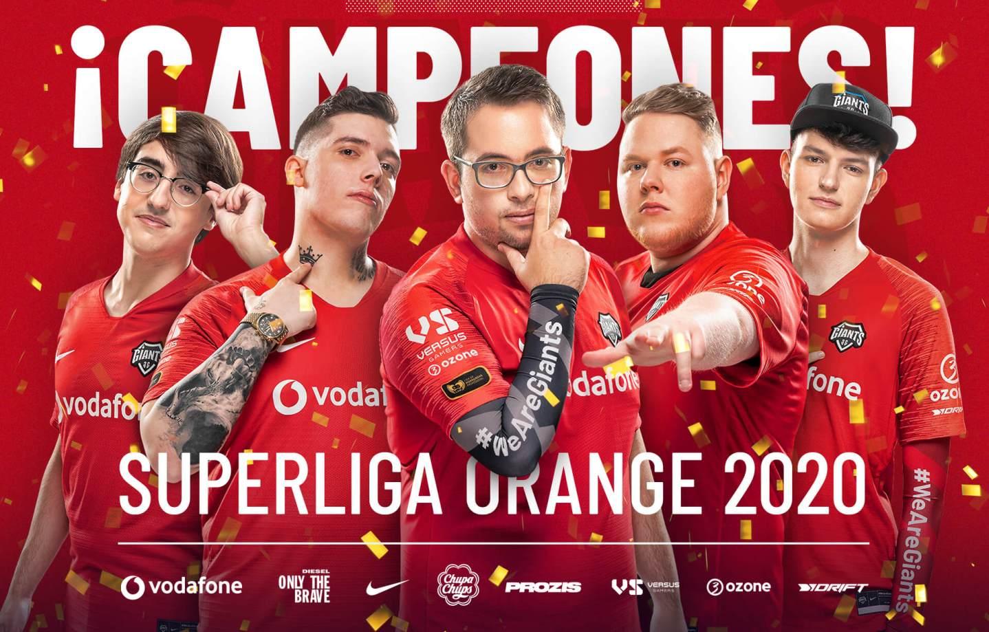 Vodafone Giants campeones superliga