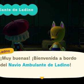 Ladino en Animal Crossing: New Horizons