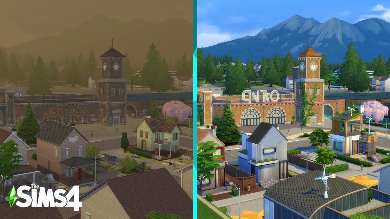 Los Sims 4 Vida Ecológica Anuncio 3