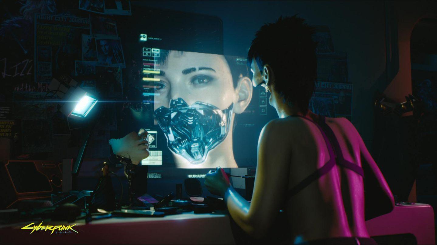 Cyberpunk 2077 genitales