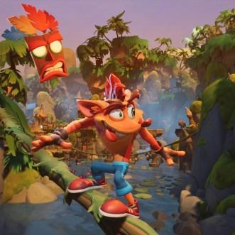lanzamiento de Crash Bandicoot 4