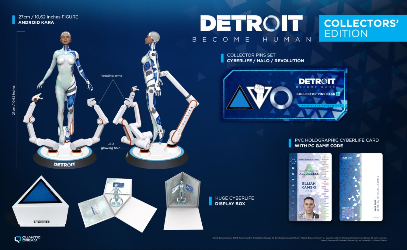 Detroit: Become Human Collector's Edition