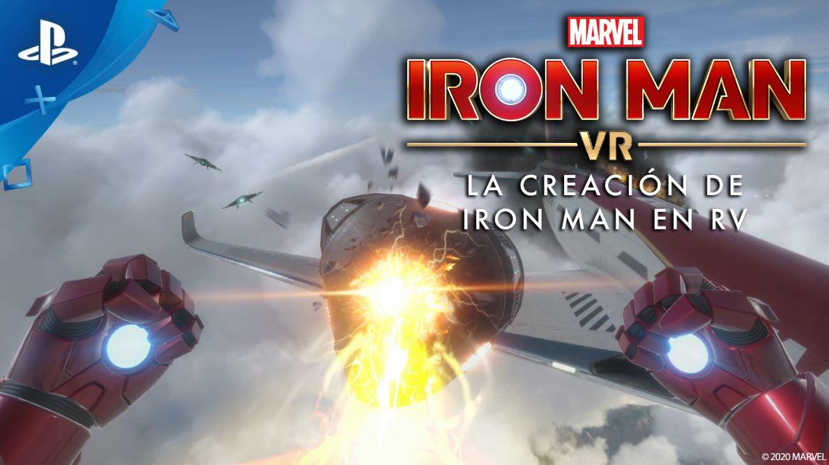 La creación de Iron Man en RV