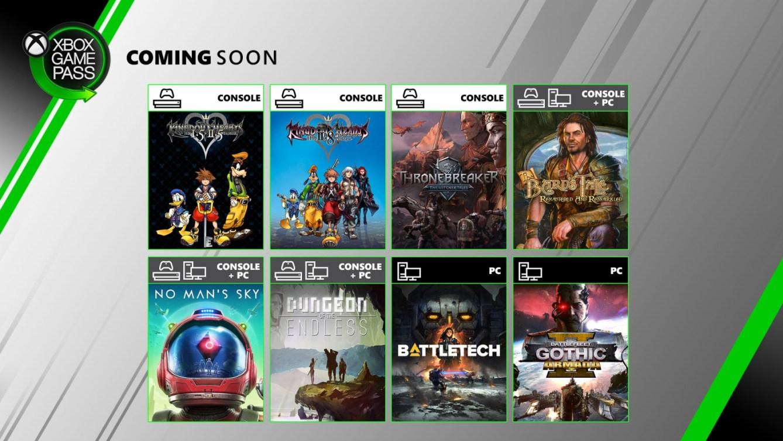 Xbox Game Pass en junio de 2020