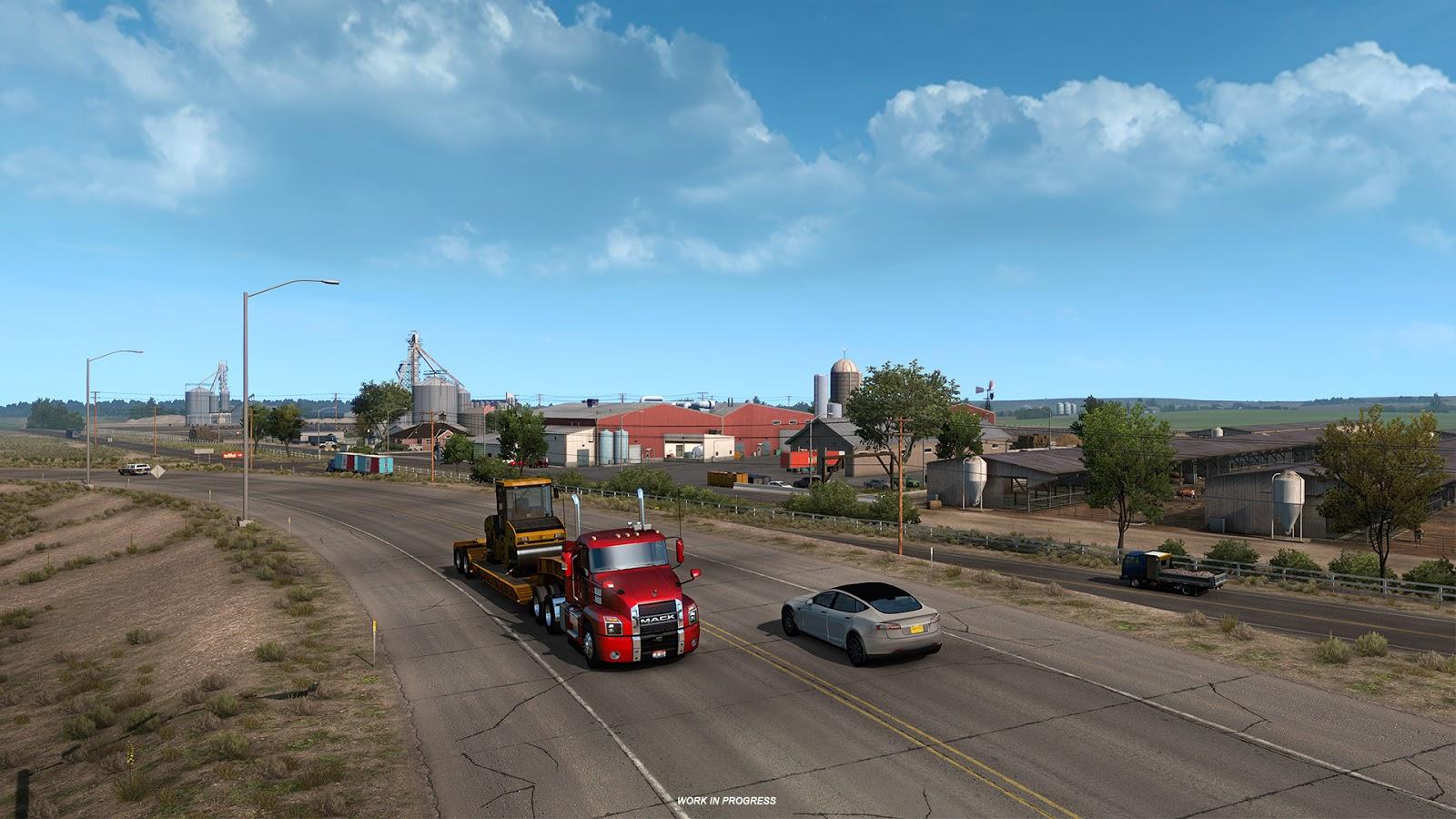 American Truck Simulator Colorado Llanuras 7