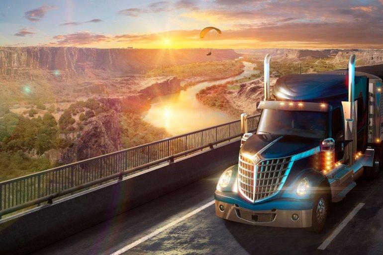 American Truck Simulator Idaho Análisis ID