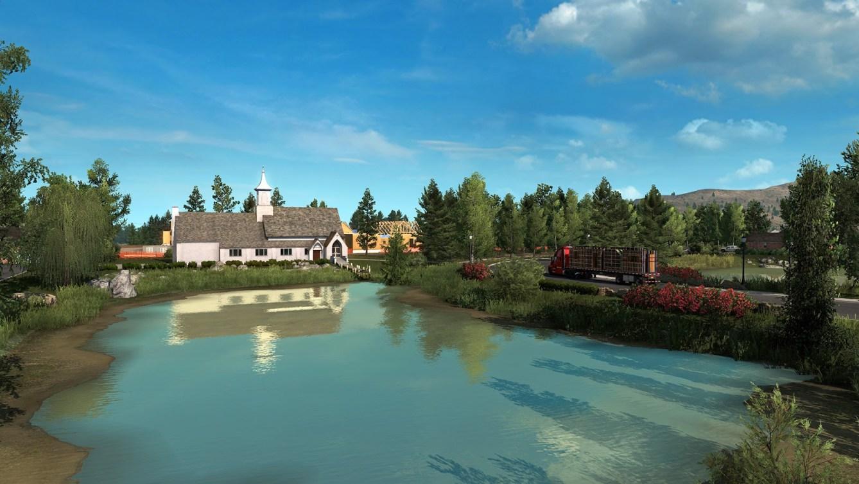 American Truck Simulator Idaho Lanzamiento 1