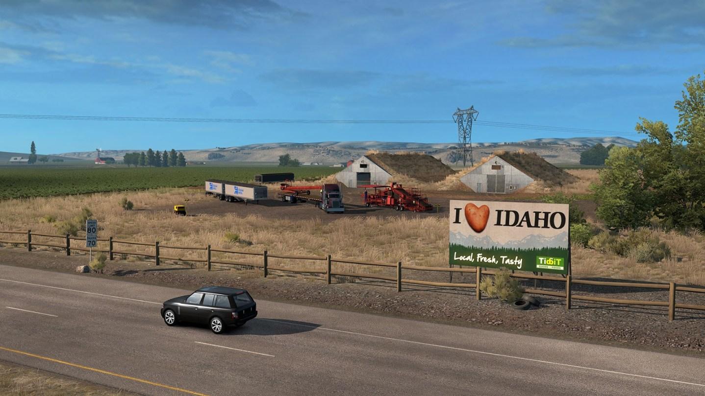 American Truck Simulator Idaho Lanzamiento 2