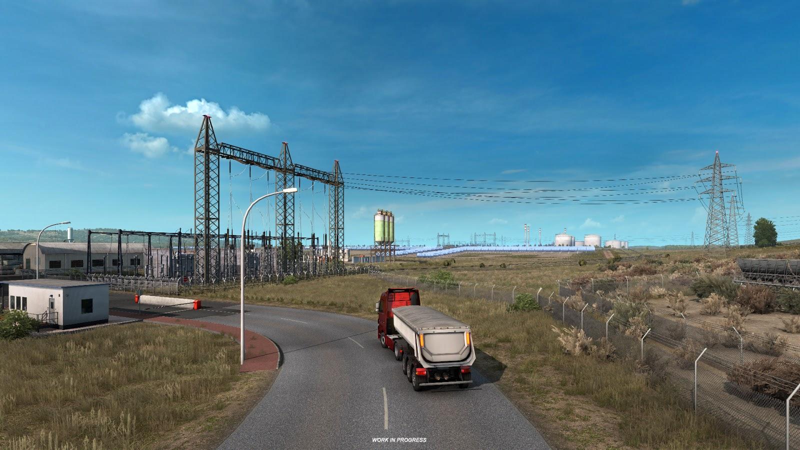 Euro Truck Simulator 2 Iberia Energia 3