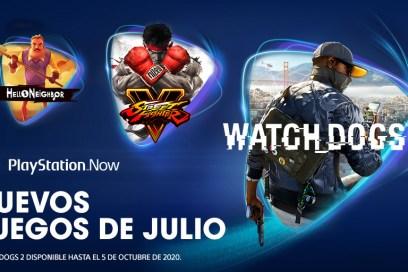 PlayStation Now en julio 2020