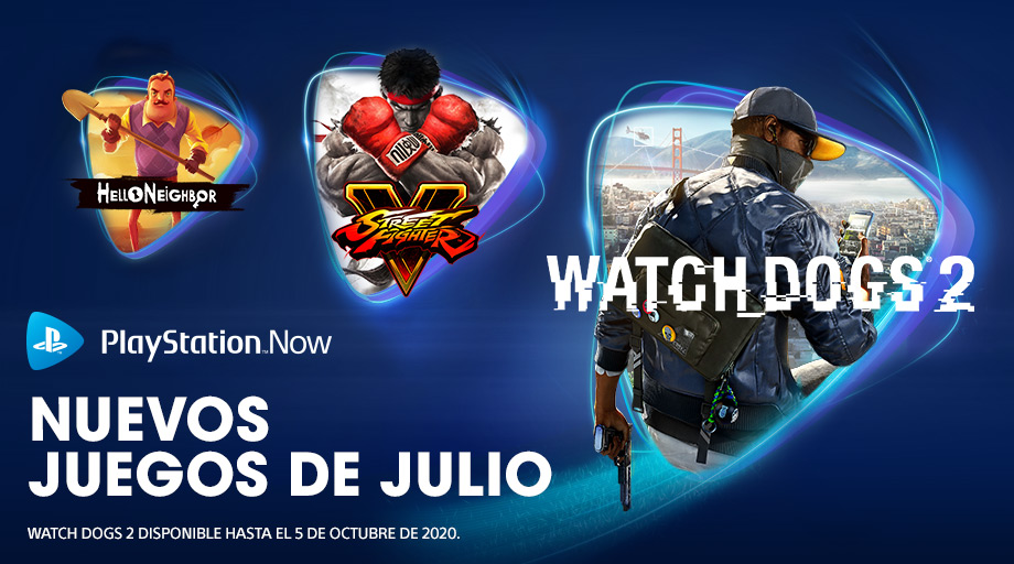PlayStation Now en julio 2020