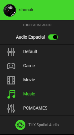 THX Spatial Audio Impresiones APP 7