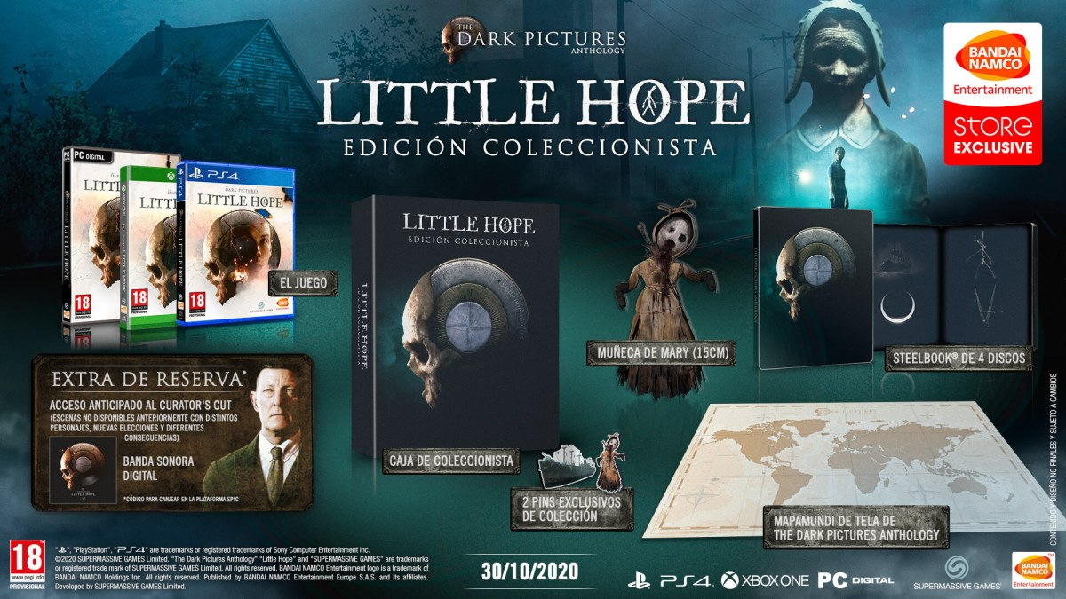 The Dark Pictures Anthology Little Hope Coleccionista