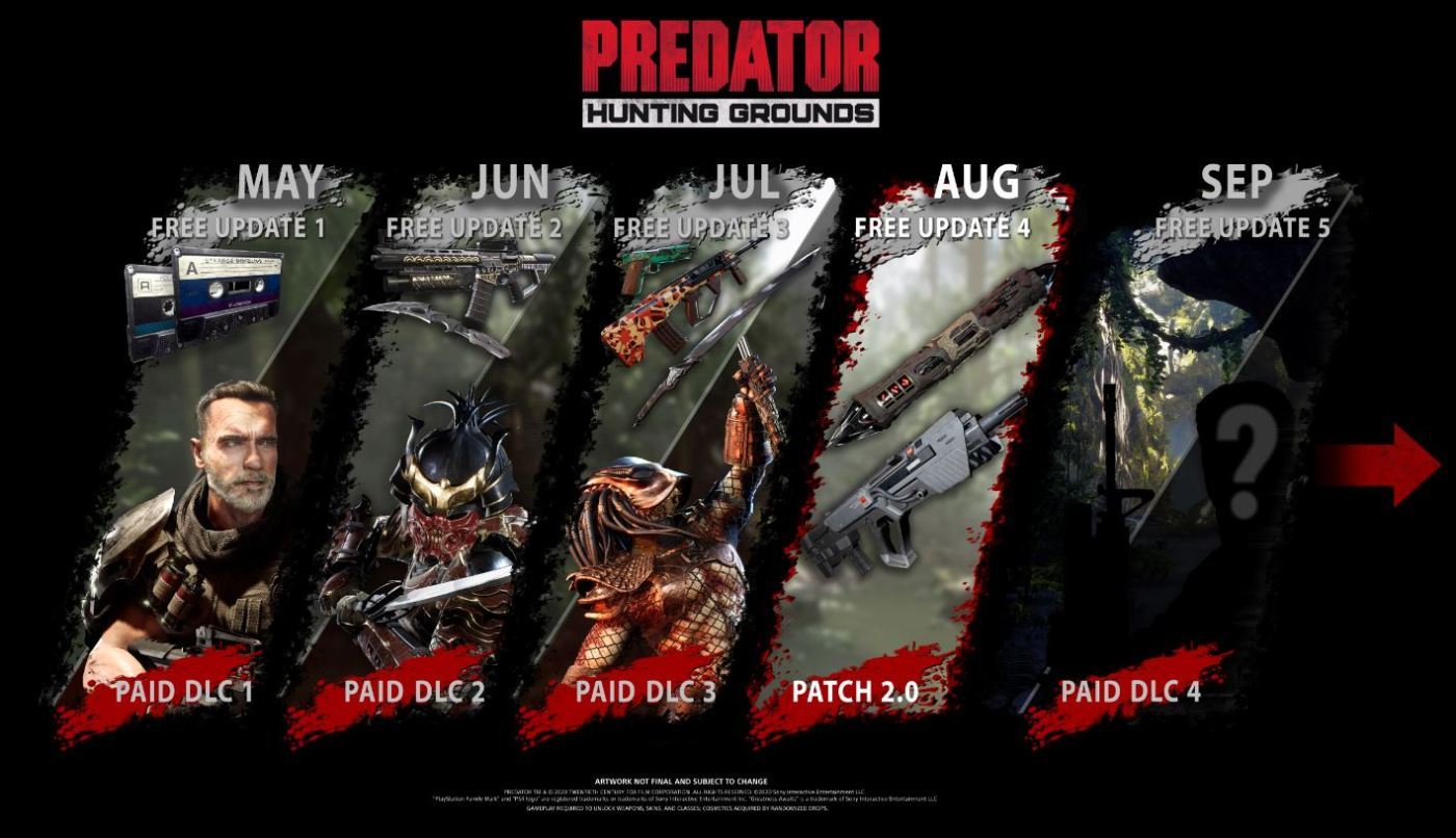 Predator Hunting Grounds Parche 2.0 2