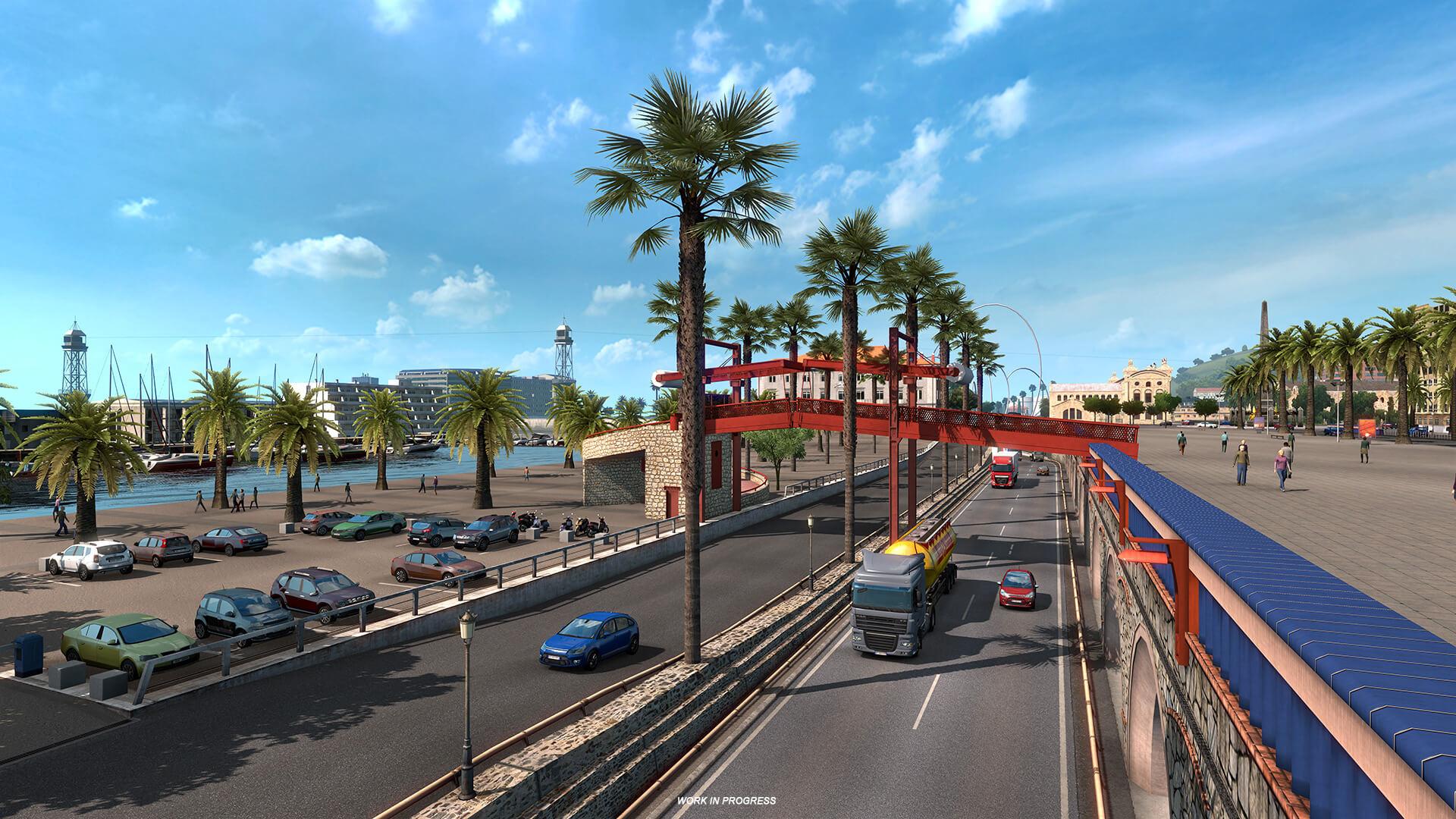 Euro Truck Simulator 2 Iberia Barcelona 11