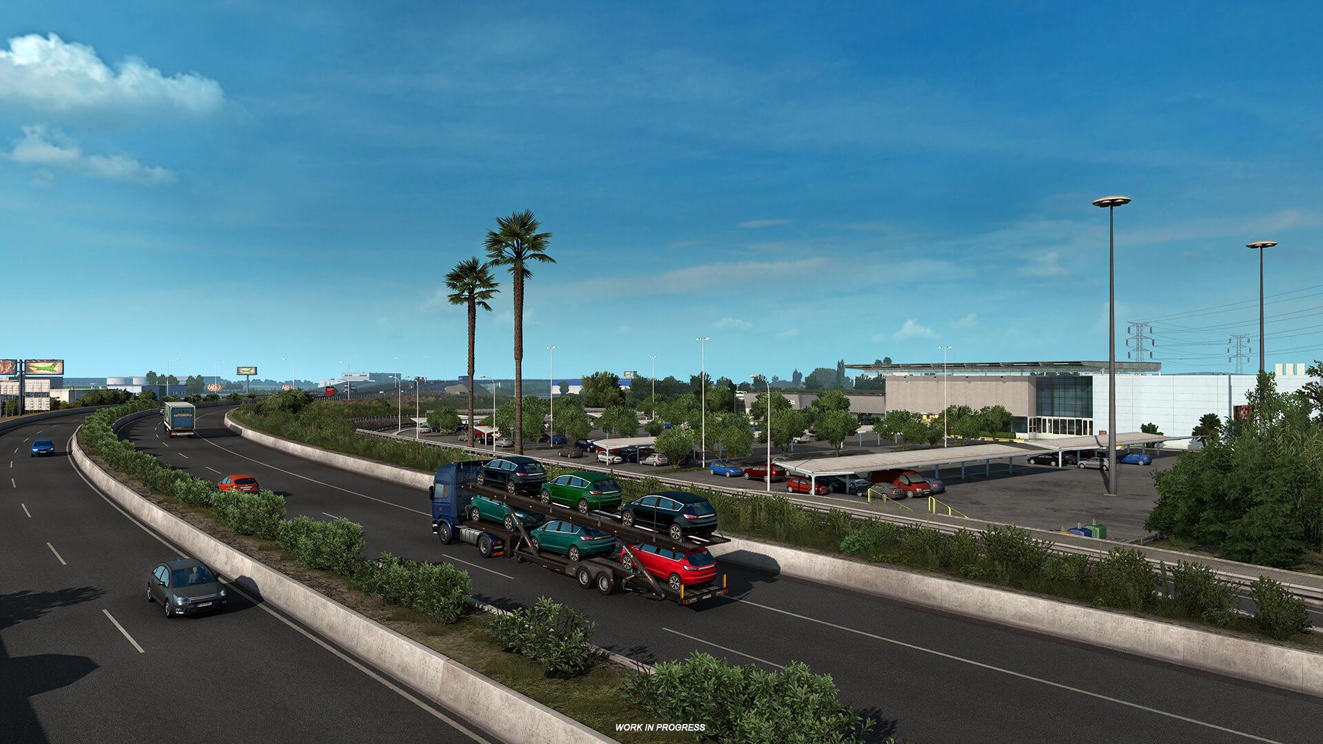 Euro Truck Simulator 2 Iberia Barcelona 13