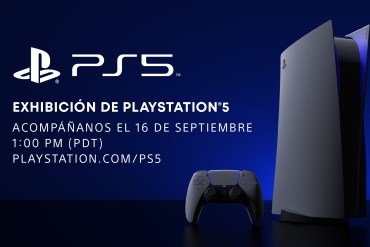 Exhibición de PlayStation 5