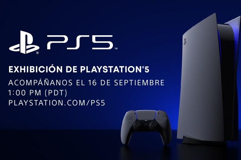 Exhibición de PlayStation 5