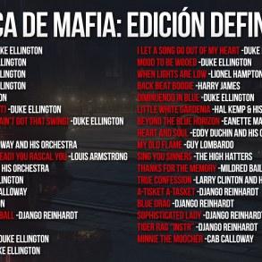 banda sonora Mafia: Edición Definitiva