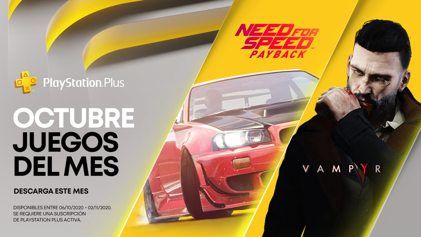 PlayStation Plus de octubre 2020