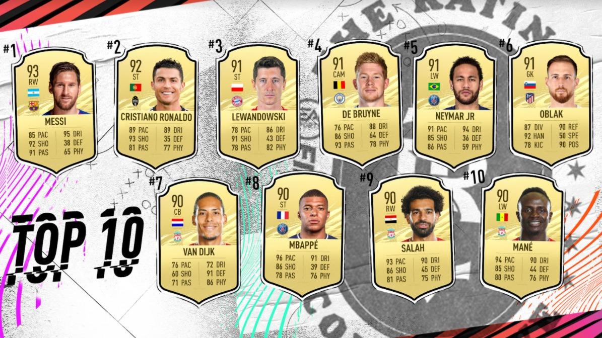 RANKING FIFA 21