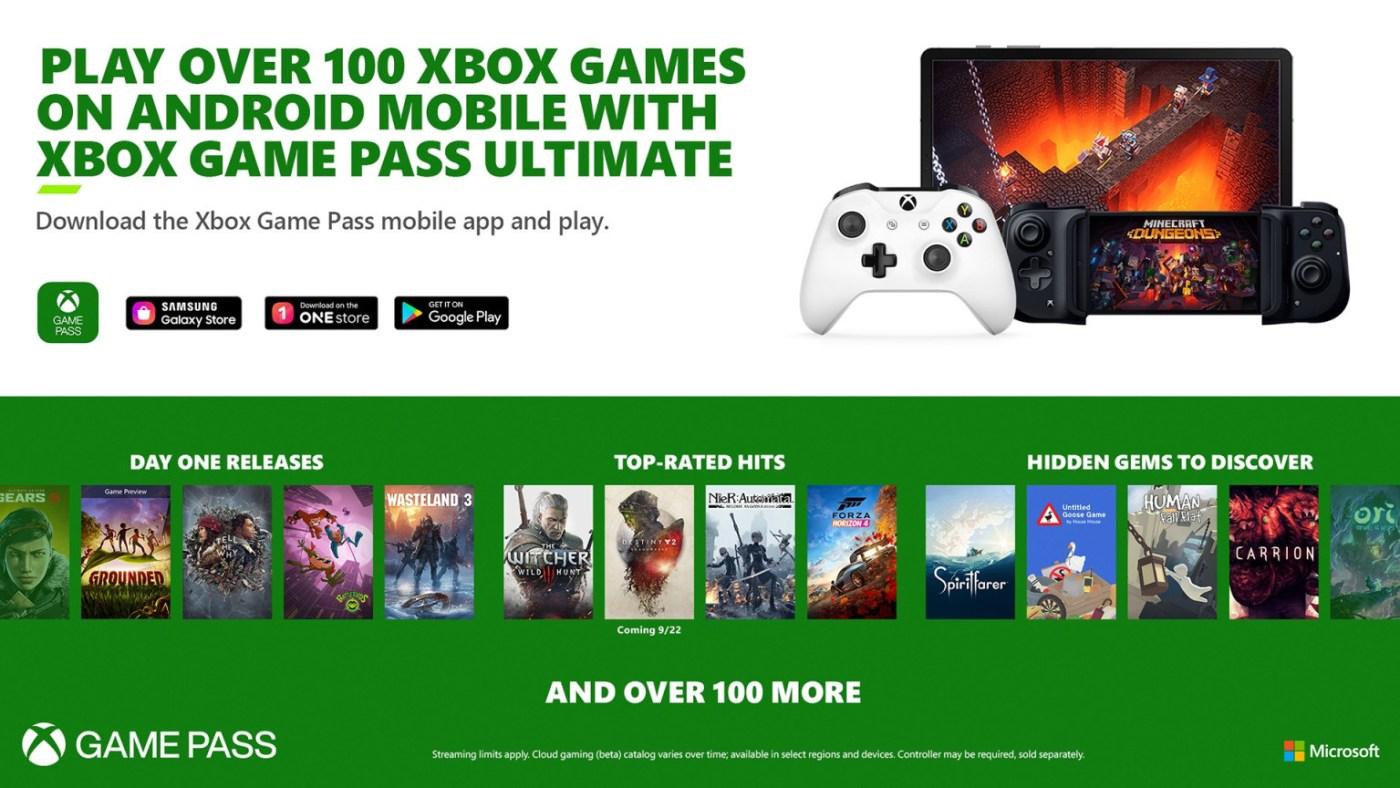 Xbox Game Pass XCloud