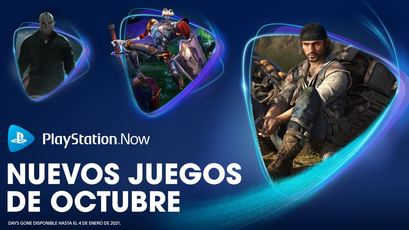 PlayStation Now octubre 2020