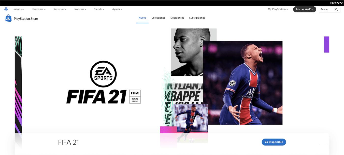 nueva PlayStation Store