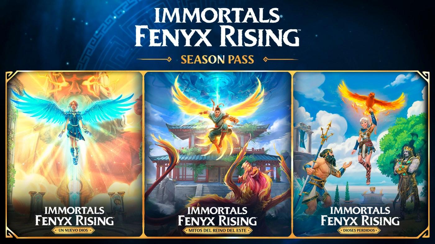 poslanzamiento de Immortals Fenyx Rising