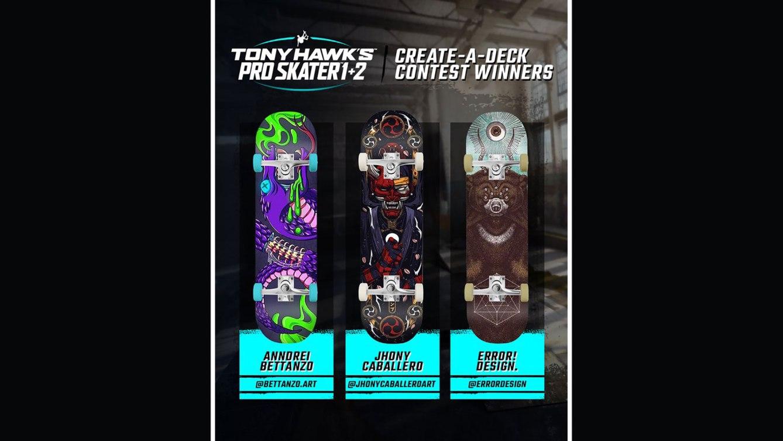 Tony Hawks Pro Skater 1 2 Fan Created Decks
