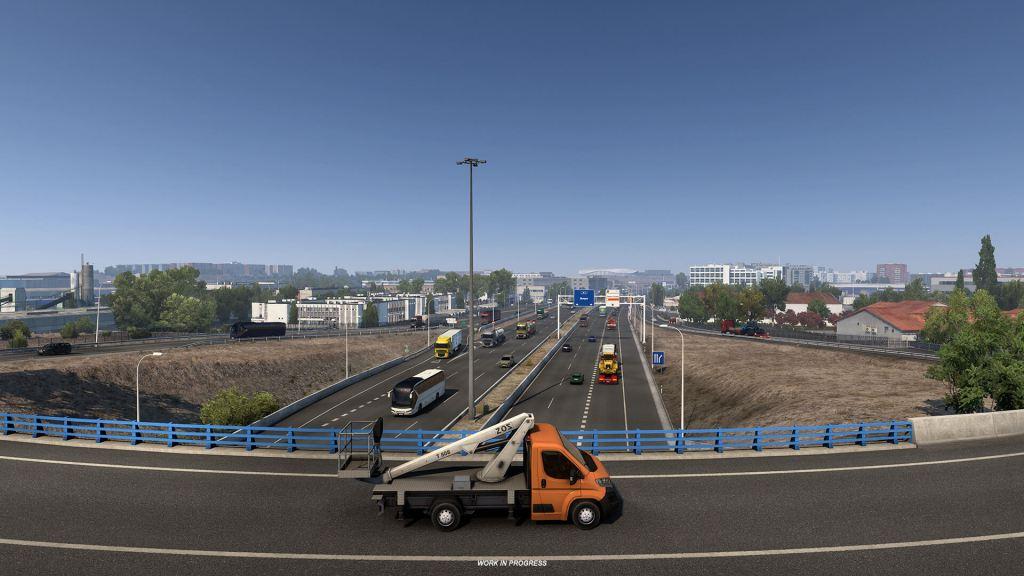 Euro Truck Simulator 2 Iberia Madrid 11