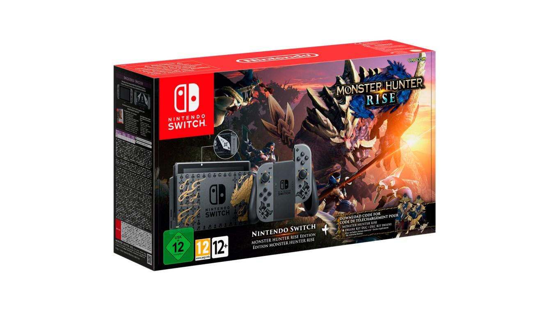 Nintendo Switch edicion MONSTER HUNTER RISE