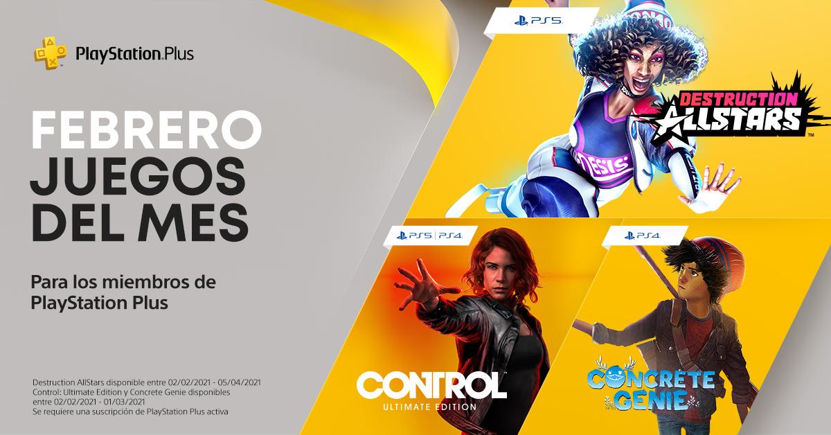 PlayStation Plus de febrero 2021