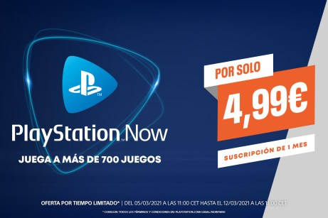 PlayStation Now Promocion 5E