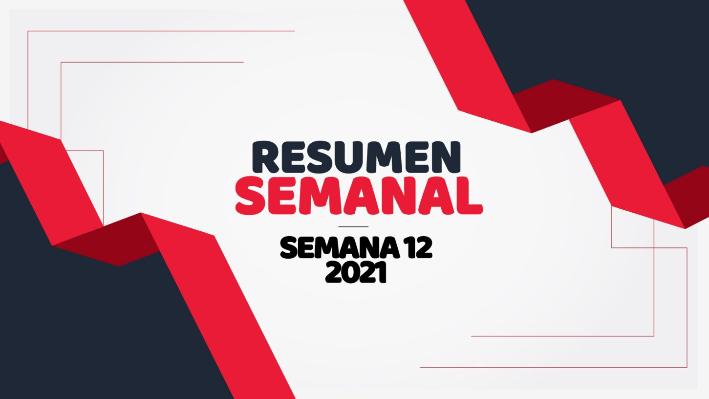 semana 12 de 2021