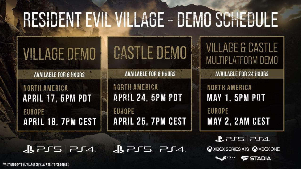 detalles de Resident Evil Village