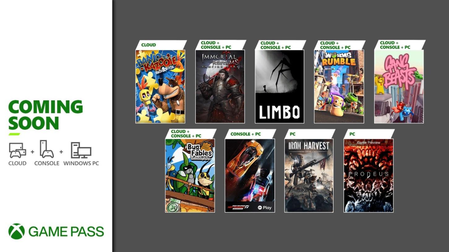 xbox game pass de junio y julio
