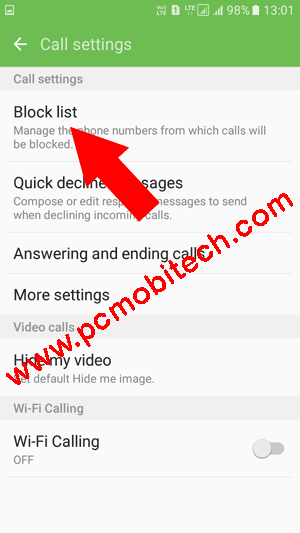 Samsung Galaxy J Pro Settings