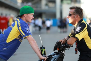 Smith and Poncharal, Indianapolis MotoGP 2011