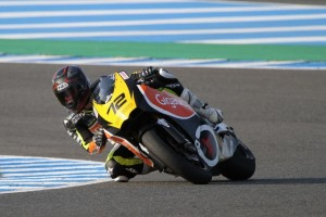 Jaume Ferrer en el Circuito de Jerez
