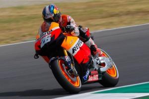 Dani Pedrosa durante el Gran Premio de Italia